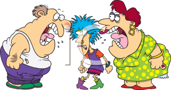 0511-0809-2315-5451_Cartoon_Parents_Yelling_at_Their_Punk_Teen_Clip_Art_clipart_image